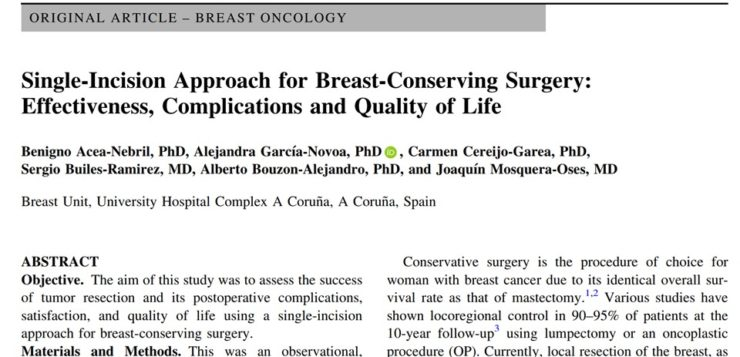 Single Port for Breast Cancer Surgery