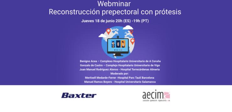 Webinar AECIMA: Reconstrucción Prepectroal con Prótesis